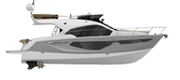 FLYBRIDGE LINE FLY42 SILVER METALLIZED (paint)
