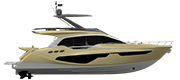 FLYBRIDGE LINE FLY68 GULLWING GOLD METALLIZED (paint)