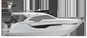 FLYBRIDGE LINE FLY47 WHITE (gelcoat)