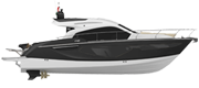 YACHT LINE C42 BLACK (gelcoat)